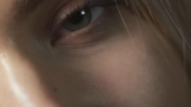 Sexy woman closeup