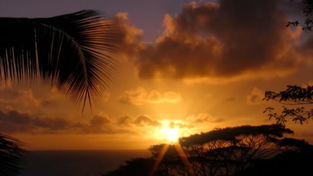 Seychelles sunrise