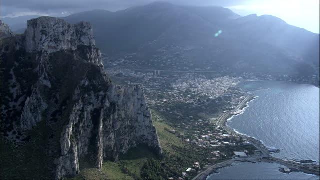 Sferracavallo  - Aerial View - Sicily, Province of Palermo, Palermo, Italy