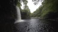 Sgwd Gwladys/Lady Falls, Neath, South Wales, UK