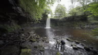 Sgwd Gwladys/Lady Falls, Neath, South Wales, UK