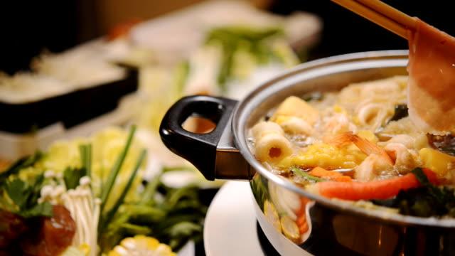 Shabu Shabu and Sukiyaki,Japanese Style and thai Style