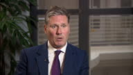 Shadow Brexit Secretary Sir Keir Starmer saying there needs to be a 'collaborative approach' with Brexit negotiations and that the deal needs to...