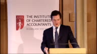 Shadow Chancellor George Osborne speech to Institute of Chartered Accountants George Osborne MP speech SOT We don't want to repeat Labour's mistake...