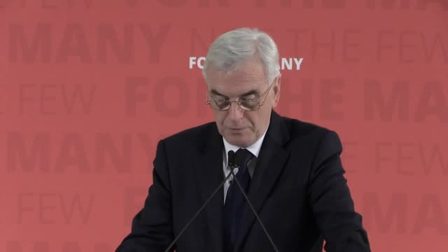 Shadow Chancellor John McDonnell calls for an emergency budget in a speech ahead of the autumn budget next week He criticises the government for not...