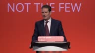 Shadow Secretary of State for Exiting the European Union Sir Keir Starmer addresses the Labour Party Conference in Brighton He discusses Amber Rudd's...