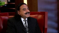 Shahid Khan interview ENGLAND London INT Shahid Khan interview SOT On upcoming NFL match / on being part of the NFL international series / majority...