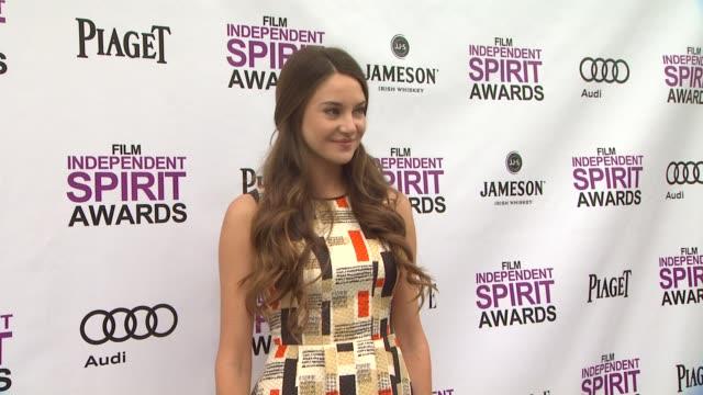 Shailene Woodley at 2012 Film Independent Filmmaker Grant And Spirit Award Nominees Brunch on 1/14/2012 in West Hollywood CA