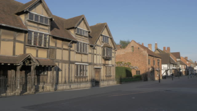 Shakespeare's Birthplace on Henley Street, Stratford Upon Avon, Warwickshire, England, United Kingdom, Europe