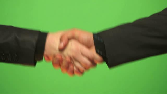 HD: Shaking hands