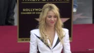 Shakira at the Shakira Honored With Star On The Hollywood Walk Of Fame at Hollywood CA