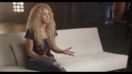 INTERVIEW Shakira talks about her excitement to be a part of the communication initiative at TMobile Launches Unlimited Global Data at Special Event...