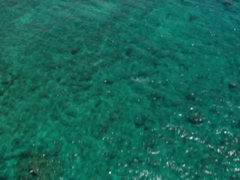 Shallow shore; beaches