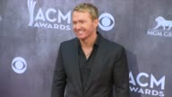Shane McAnally at the 49th Annual Academy of Country Music Awards Arrivals at MGM Grand Garden Arena on April 06 2014 in Las Vegas Nevada
