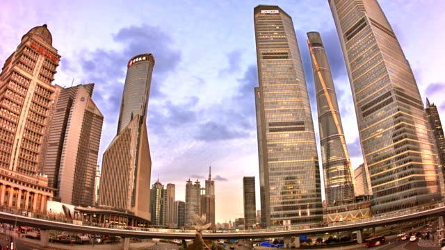 Shanghai, bussines district