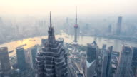 Shanghai city overall view
