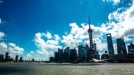 Shanghai city time lapse