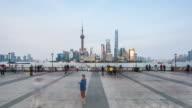 Shanghai cityscape day to night, 4k TimeLapse,2016