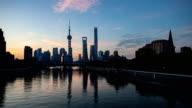 Shanghai dawn time-lapse