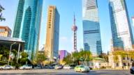 Shanghai landmark: Oriental Pearl TV tower