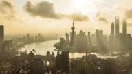 T/L MS HA PAN Shanghai Skyline in the Morning / Shanghai, China