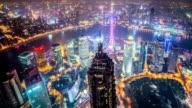 Shanghai timelapse at dusk