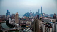 Shanghai Twilight time-lapse