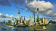 4K: Shanghai's Panoramic Landscape, China