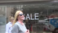 Shannon Tweed shopping in Beverly Hills at Celebrity Sightings in Los Angeles on June 23 2017 in Los Angeles California