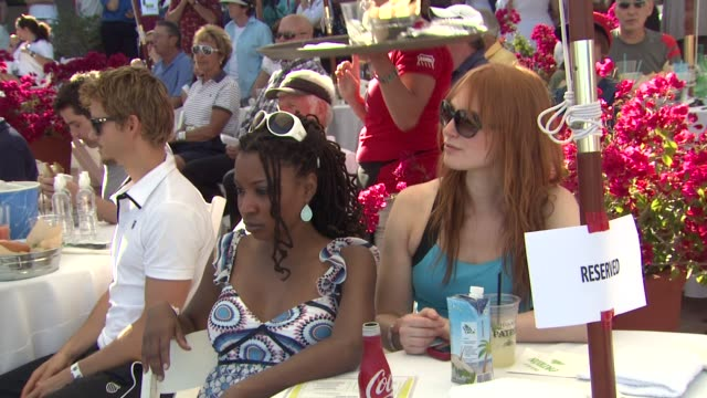 Shanola Hampton Alicia Witt at the 7th Annual KSwiss Desert Smash at Palm Springs CA