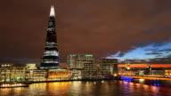 TL HA Shard and London Bridge night