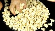 Share popcorns.