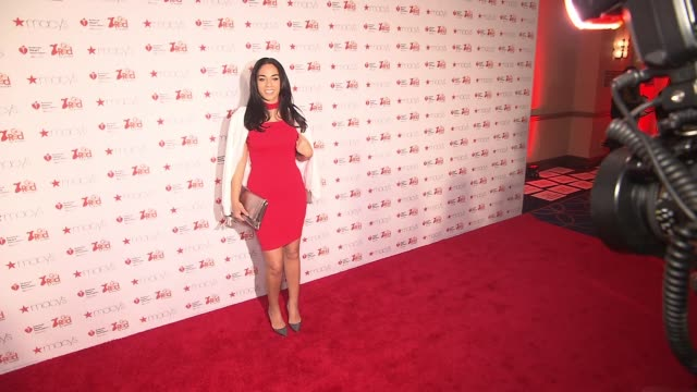 Sharon Carpenter at The American Heart Association's Go Red For Women Red Dress Collection 2017 Presented By Macy's at Hammerstein Ballroom on...