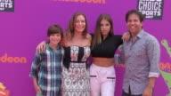 Sharon Kremen Martin Baby Ariel Jose Martin at the Nickelodeon Kids' Choice Sports Awards 2017 at UCLA's Pauley Pavilion on July 13 2017 in Westwood...