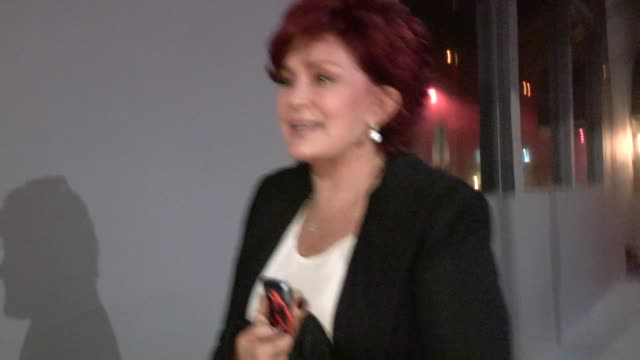Sharon Osbourne on Justin Bieber deportation Petition to White House at Crossroads in LA Celebrity Sightings in Los Angeles on January 29th 2014 in...