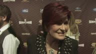 Sharon Osbourne talks about how exciting it is to be out all together as a family and how people love to be scared at the Spike TV's SCREAM 2008 at...