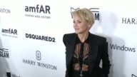 Sharon Stone at amfAR's Inspiration Gala Los Angeles 2015 in Los Angeles CA