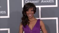 Shaun Robinson at The 55th Annual GRAMMY Awards Arrivals in Los Angeles CA on 2/10/13