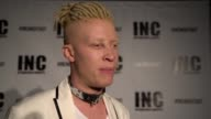 INTERVIEW Shaun Ross at INC NIGHT OUT at Art Basel Miami Beach Hosted by Wilmer Valderrama on December 03 2016 in Miami Florida