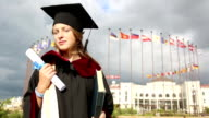 she graduated