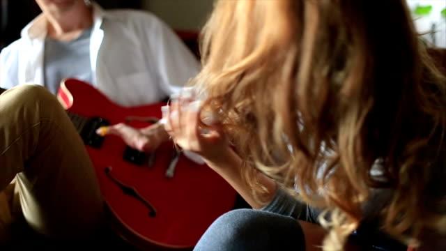 Geht Sie den Klang der Gitarre