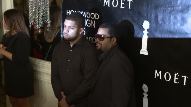 O'Shea Jackson Jr and Ice Cube at the Hollywood Foreign Press Association's Annual Grants Banquet Dinner at the Beverly Wilshire Four Seasons Hotel...