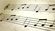 Spartito, notazione musicale, note e Chiave di violino