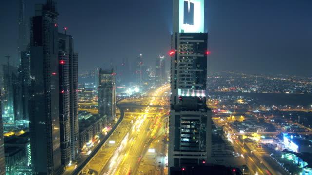Sheik Zayed Road timelapse