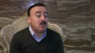 Sheikh Samo a Ezidi member of the Kurdish parliament tells journalist that ethnic groups in the country's northern city of Sinjar are unhappy about...