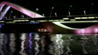 Sheikh Zayed Bridge at Night Abu Dhabi