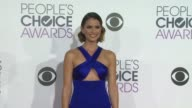 Shelley Hennig at the People's Choice Awards 2016 at Nokia Plaza LA LIVE on January 6 2016 in Los Angeles California