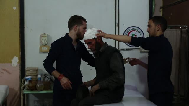 Shelling by Syrian regime forces on the rebel held area of Eastern Ghouta near Damascus Friday killed at least eight people in Douma and Misraba the...