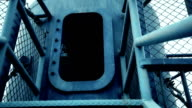 Shelter made from submarine part