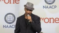 SPEECH Shemar Moore at the 46th Annual NAACP Image Awards Press Room at Pasadena Civic Auditorium on February 06 2015 in Pasadena California
